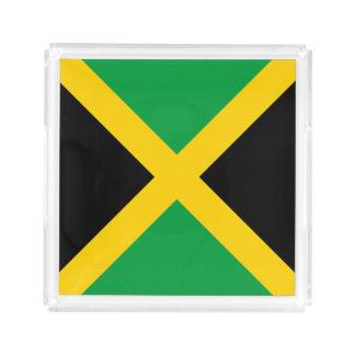 Jamaica Flag Acrylic Tray