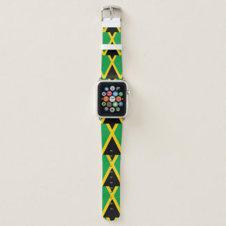 Jamaica Flag Apple Watch Band