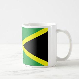 JAMAICA FLAG BASIC WHITE MUG
