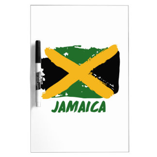 Jamaica flag design dry erase board