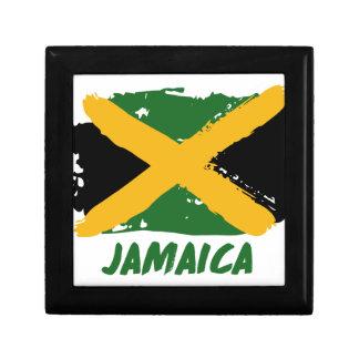 Jamaica flag design keepsake box