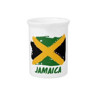Jamaica flag design pitcher