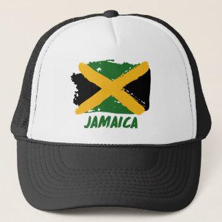 Jamaica flag design trucker hat