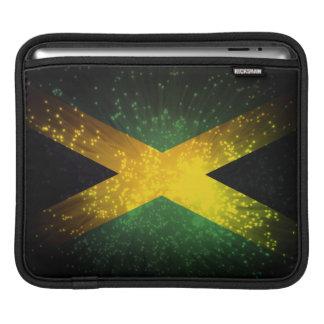 Jamaica Flag Firework iPad Sleeve