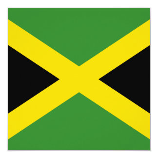 Jamaica Flag Invitation