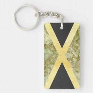 Jamaica Flag Key Chain Souvenir