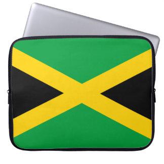 Jamaica Flag Laptop Sleeve