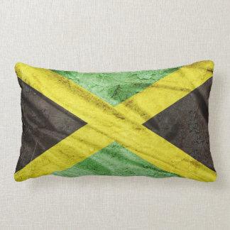 Jamaica flag lumbar pillow