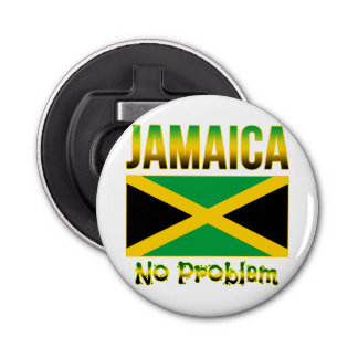 Jamaica Flag No Problem Bottle Opener