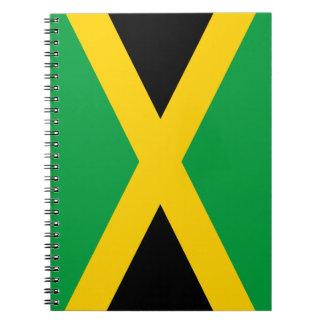 Jamaica flag note books