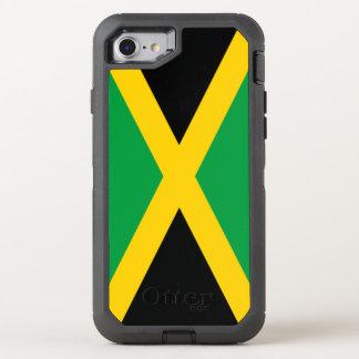 Jamaica Flag OtterBox Defender iPhone 8/7 Case