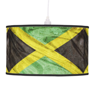 Jamaica flag pendant lamp