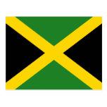 Jamaica Flag Postcard