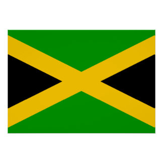 Jamaica Flag Print