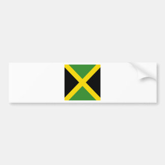 Jamaica flag  products bumper sticker