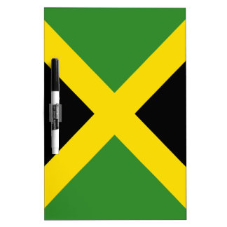 Jamaica flag  products dry erase board