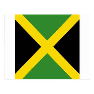 Jamaica flag  products postcard