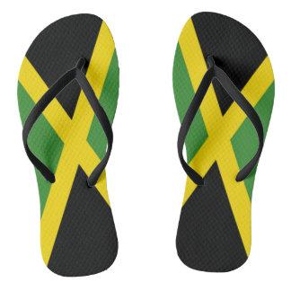 Jamaica flag - Proud Jamaicans - Flip flop