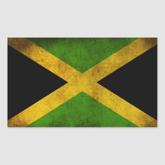 Jamaica flag - Proud Jamaicans - Rasta Sticker