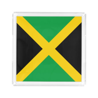 Jamaica Flag Serving Tray
