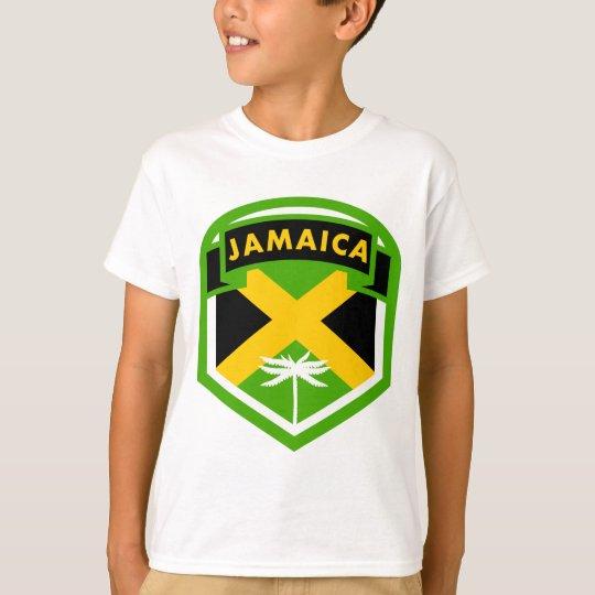 Jamaica Flag Shield Style T-Shirt