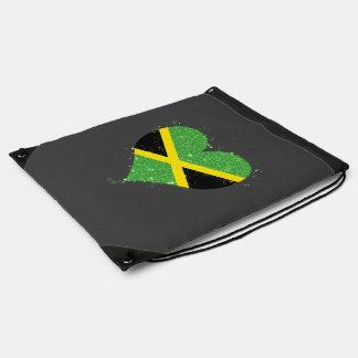 Jamaica Flag Shining Beautiful Cinch Bag