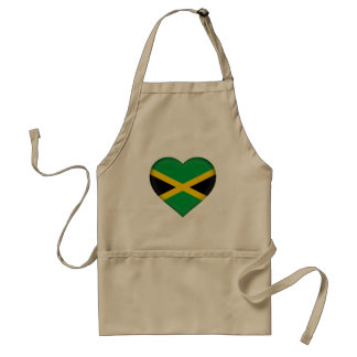Jamaica Flag Standard Apron