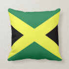 Jamaica Flag Throw Pillow