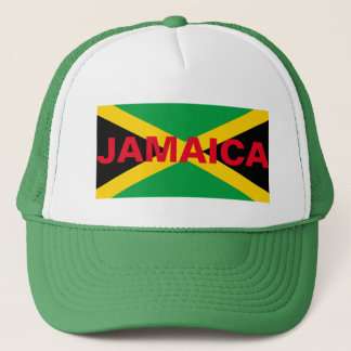 JAMAICA FLAG TRUCKER HAT