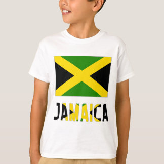 Jamaica Flag & Word T-Shirt