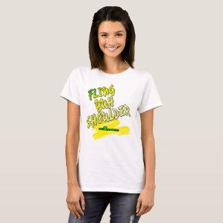 "Jamaica ""Fling Yuh Shoulder"" Ladies T-shirt"