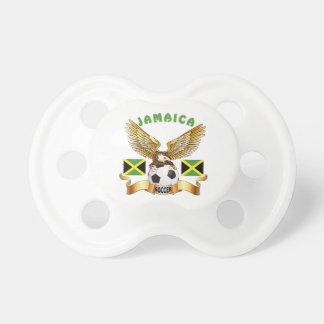 Jamaica Football Designs Pacifier