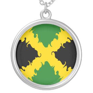 Jamaica Gnarly Flag Custom Necklace
