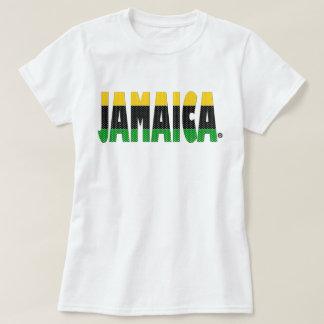 Jamaica Gold Black Green Stripes Jamaica T-Shirt
