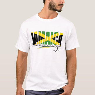 Jamaica Home of Fastest Man on Planet T-Shirt