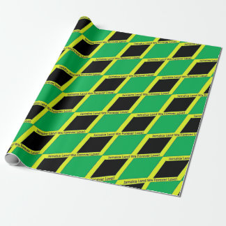 Jamaica in the Home Wrapping Paper