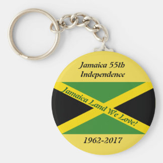 Jamaica Independence Key Chain
