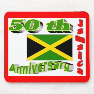 Jamaica independence mouse pads