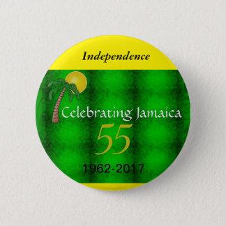 Jamaica Independence Round Button