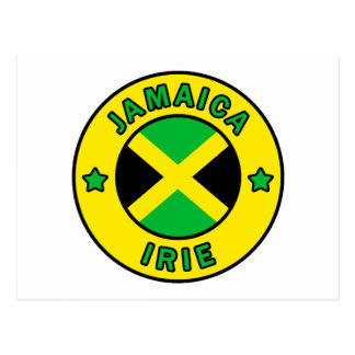 Jamaica Irie Postcard