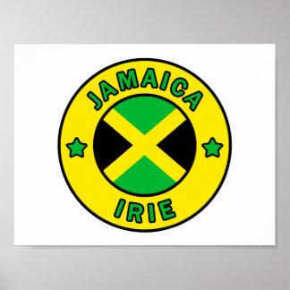Jamaica Irie Poster