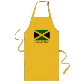 Jamaica jamaican flag souvenir chef apron