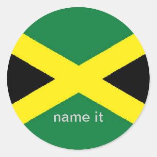 Jamaica jamaican flag sticker