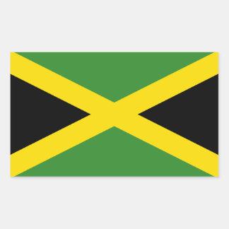 Jamaica/Jamaican Flag Sticker