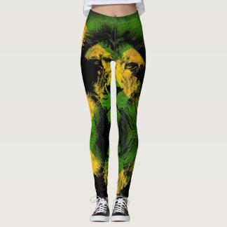 Jamaica Lion flag Proud Jamaicans - Yoga put-went Leggings
