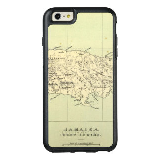 Jamaica Lithographed Map OtterBox iPhone 6/6s Plus Case