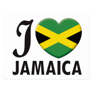 Jamaica Love Postcard