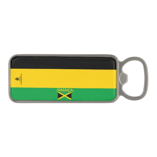 Jamaica Magnetic Bottle Opener