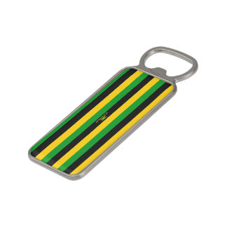 Jamaica Magnetic Striped Bottle Opener-2 Magnetic Bottle Opener