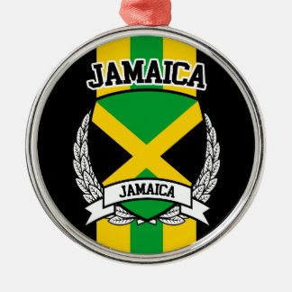 Jamaica Metal Ornament